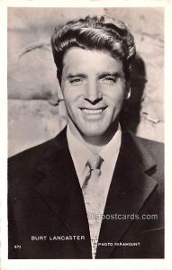 Burt Lancaster Movie Star Actor Actress Film Star Unused