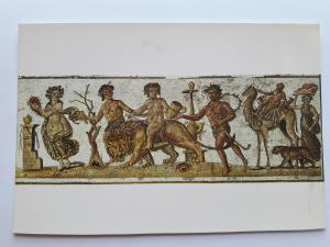 Tunisia, Africa, Musee D'El Jem, Procession dionysiaque