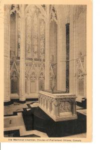 Postal 036190 : The Memorial Chamber Houses of Parliament Ottawa Canada