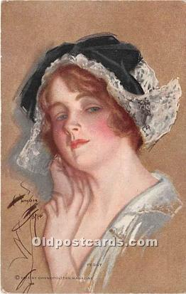 Series 871 Peggy Artist Harrison Fisher Postcard
