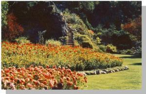 Victoria, BC/B.C., Canada Postcard, The Butchart Gardens
