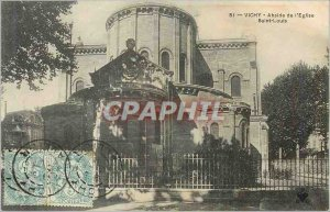 Postcard Old Vichy Apse of the Church of St. Louis