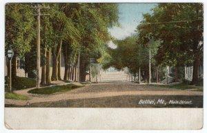 Bethel, Me, Main Street
