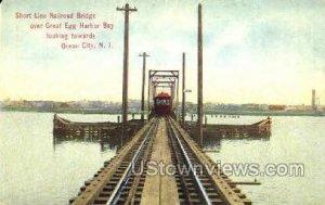 Short Line Railroad Bridge in Ocean City, New Jersey