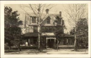 Southern Pines NC Magnolia Lodge c1920 Real Photo Postcard