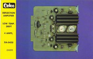 Celco, Deflection Amplifier, 40-60s
