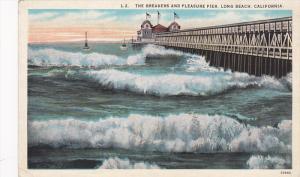 Pleasure Pier , LONG BEACH , California , 1910s