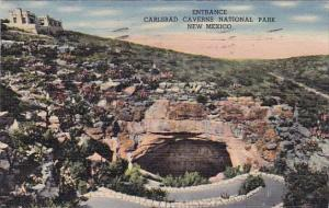 New Mexico Carlsbad Entrance Carlsbad Caverns National Park 1951