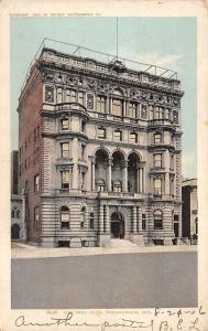 Indianapolis Indiana~Columbia Club~Detroit Publishing Co~1906 Postcard