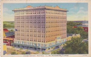 Florida St Petersburg Suwannee Hotel 1935 Curteich