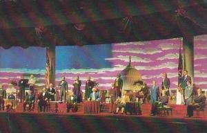 Florida Walt Disney World The Hall Of Presidents