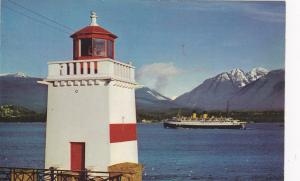VANCOUVER, Canada, 40-60s; Lighthouse , Brockton Point