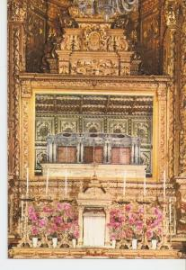 Postal 030145 : Coimbra - Portugal Mai-Altar with the silver Tumulus and the ...