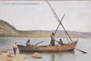 TIBERIAS, Israel, 00-10s ; Fisherman's Boat