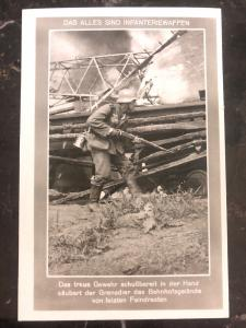 Mint Germany Real Picture Postcard RPPC  WWII these are all infantry weapons