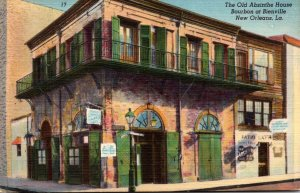 Louisiana New Orleans The Old Absinthe House