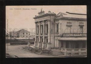 054344 VIETNAM Tonkin Haiphong Theatre  Vintage PC