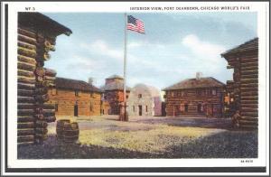 Illinois Fort Dearborn World's Fair - [IL-052]