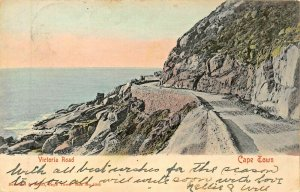 CAPE TOWN SOUTH AFRICA~VICTORIA ROAD~1900s PHOTO POSTCARD