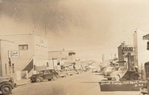 RP: CUT BANK , Montana , 1930-40s ; Main Street