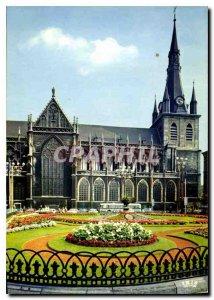 Modern Postcard Liege Luik Church of Saint Paul