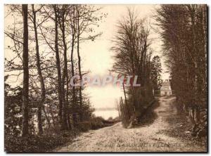 Old Postcard Caudebec-en-Caux Caudebec Road has Villequier Chateau