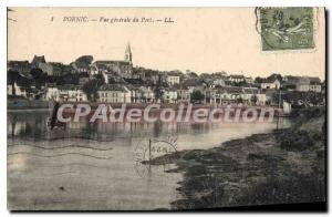 Postcard Ancient Pornic Port Vue Generale