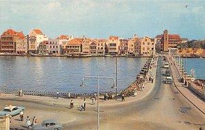 Curacao, Netherlands Antilles Post card Old Vintage Antique Postcard Pontoon ...