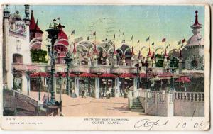 Spectators' Boxes in Luna Park, Coney Island NY