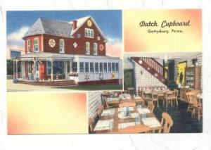 Interior & Exterior, Dutch Cupboard, Gettysburg, Pennsylvania, 30-40s