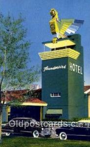 Thunderbird Hotel, Las Vegas, NV, USA Motel Hotel Postcard Post Card Old Vint...