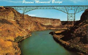 Postcard Perrine Memorial Bridge Twin Falls Idaho