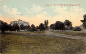 Fargo North Dakota~N. D. A. C. University/College? General View~c1910 Postcard