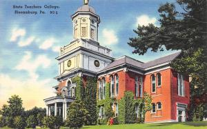 State Teacher's College, Bloomsburg, PA, Pennsylvania, Early Postcard, Unused