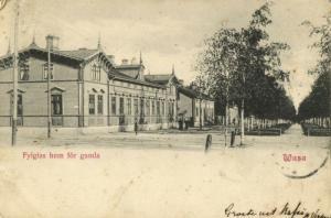 finland suomi, WASA VAASA, Fylgias hem för Gamla (1902) Postcard