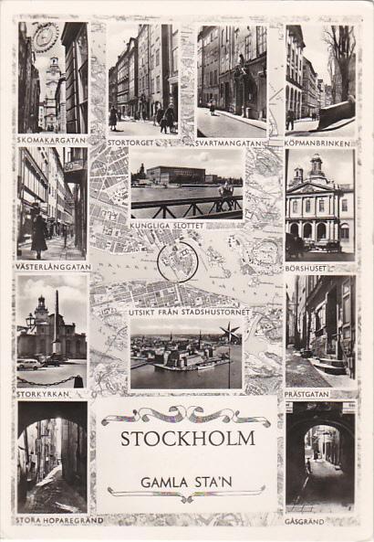 Sweden Stockholm Multi View