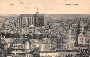 France Metz Gesamtansicht Kirche Church Eglise Panorama