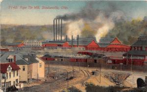 F6/ Steubenville Ohio Postcard c1910 Pope Tin Mill Factory
