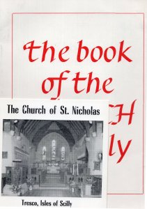 The Book Of The Church Of St Nicholas Isles Of Scilly Tresco 2x Book s