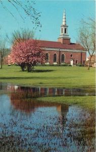 Glenwood Illinois~Glenwood School for Boys Chapel~1966 Postcard