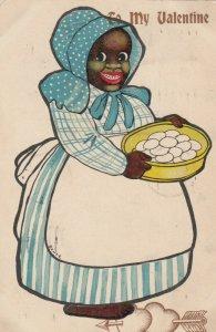Artist BONTE; Black Woman Valentine , 1906