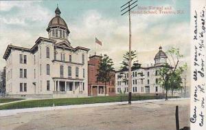 State Normal & Model School , TRENTON, New Jersey , PU-1906
