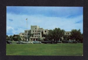 NM VA Veterans Hospital ALBUQUERQUE NEW MEXICO POSTCARD Carte Postale
