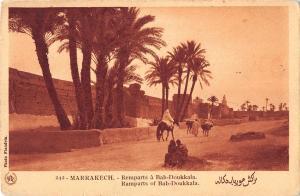 BR72429 marrakech remparts a bab doukkala morocco africa