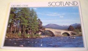 Scotland The Old Brig O' Dee PAB00297 DRG J Arthur Dixon - posted 1995