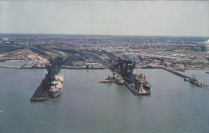 Newport News,  Hampton Roads at the mouth of the James River,  Newport News, ...