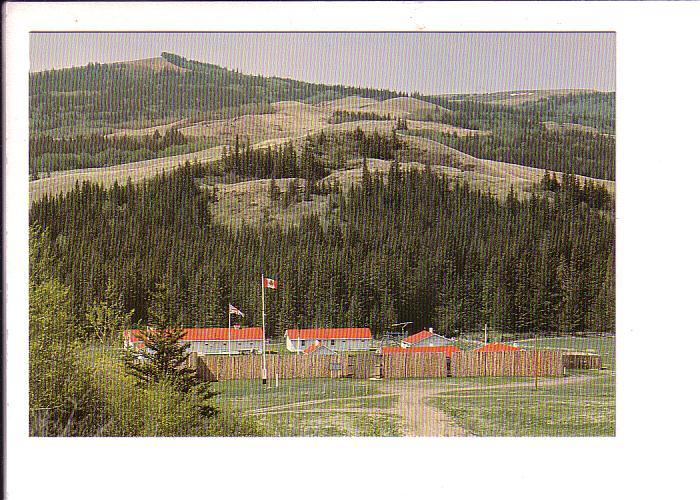 Fort Walsh, Saskatchewan Canada Post Matching 8 Cent Stamp Series