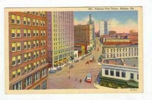 Famous Five Points, Atlanta, Georgia, 30-40s
