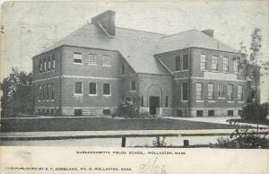 Massachusetts Fields School Wollaston United States 1900s