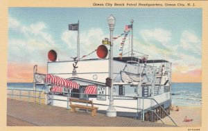 New Jersey Ocean City Beach Patrol Headquarters Curteich sk621